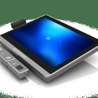 Uniq190C Multimedialny komputer przemysłowy bok urządzenia