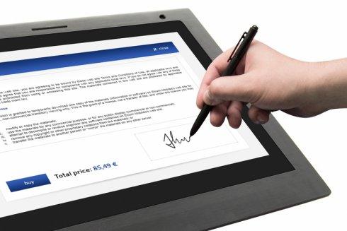 digitaldesk odręczny podpis